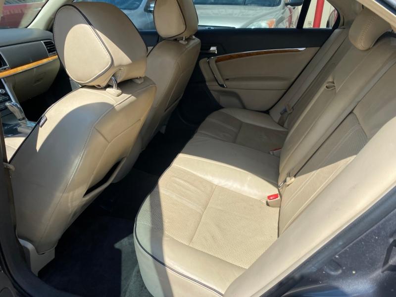 Lincoln MKZ 2011 price $5,000