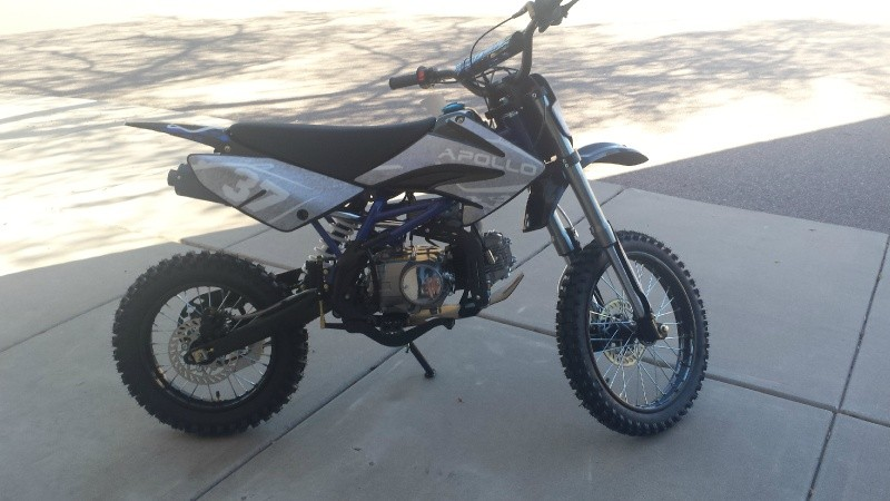 Dirt Bike Apollo 2020 price $1,400