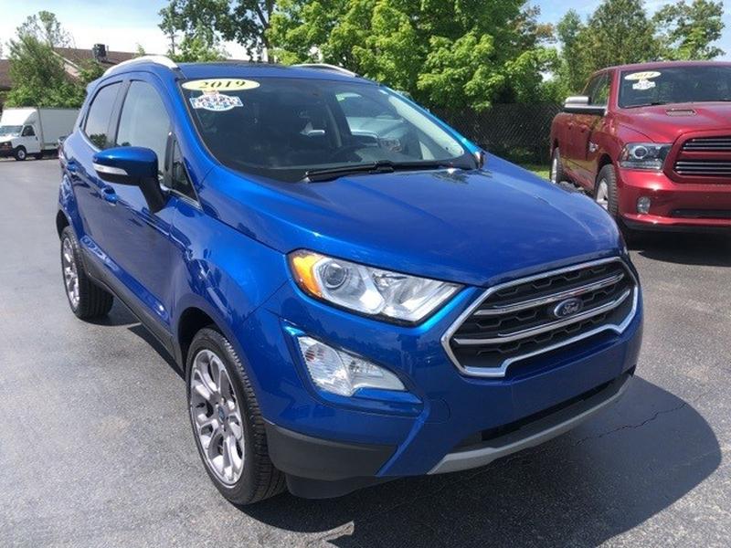Ford EcoSport 2019 price $15,999