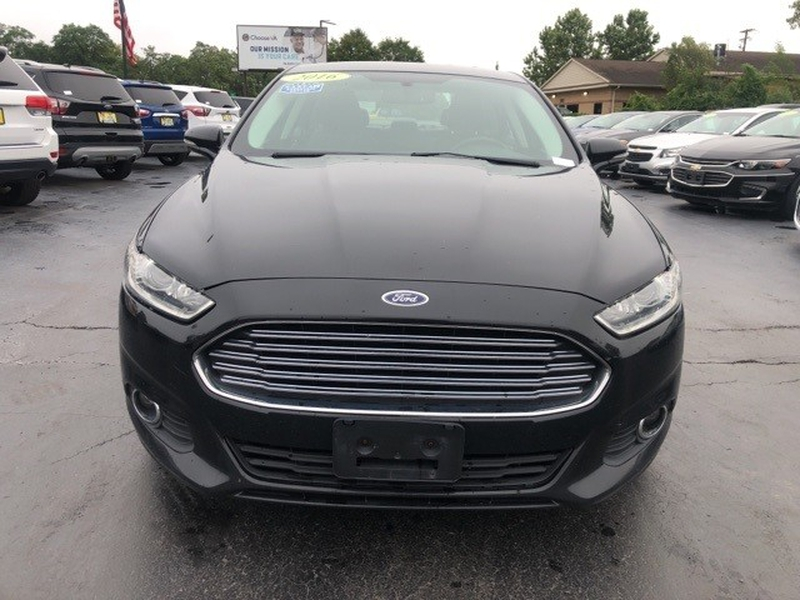 Ford Fusion 2016 price $12,348