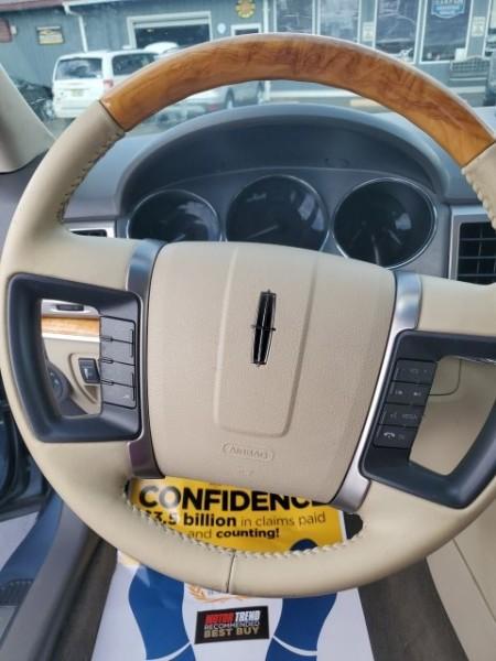 Lincoln MKZ 2012 price $10,500