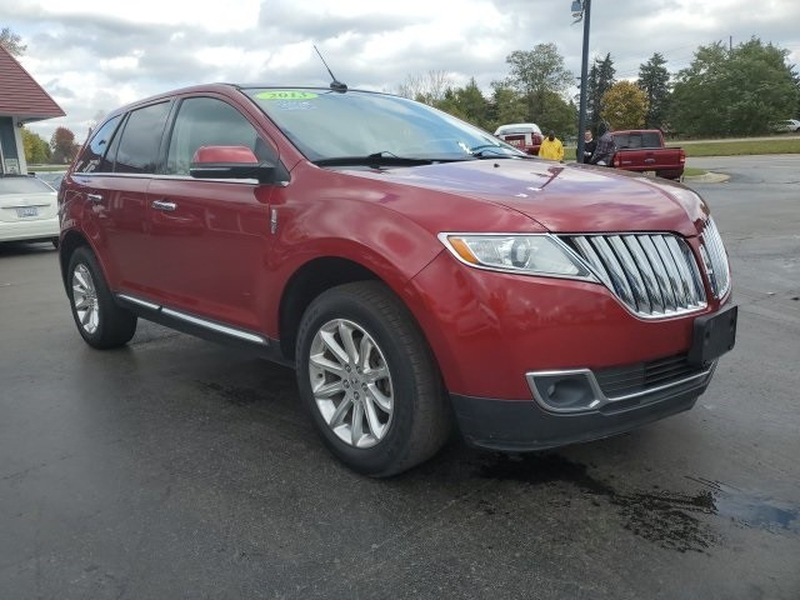 Lincoln MKX 2013 price $11,396