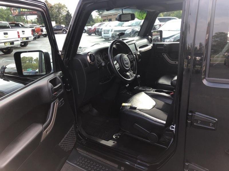 Jeep Wrangler 2016 price $35,000