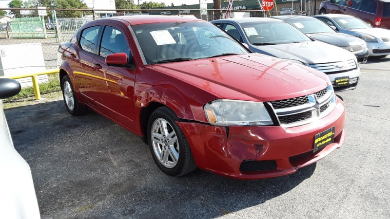 DODGE AVENGER 2012 price $825 Down