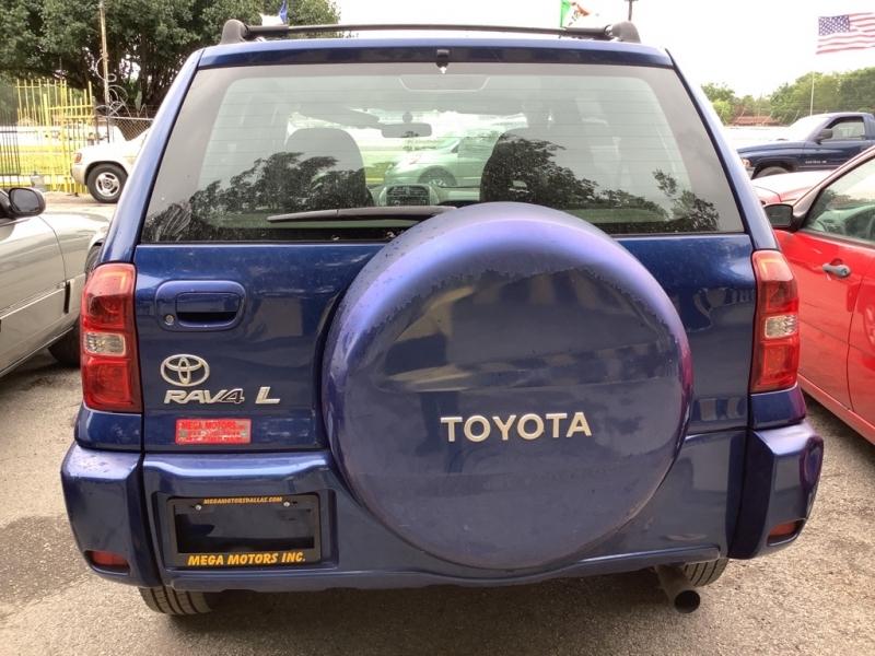 TOYOTA RAV4 2004 price $1,000