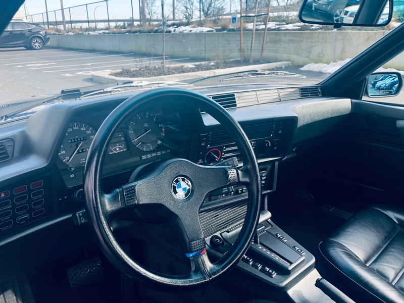 BMW 6 Series 1986 price $29,800