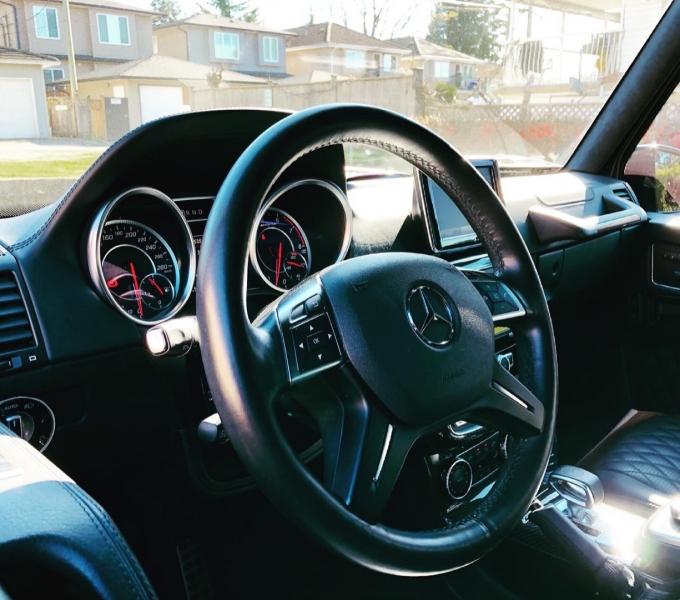 Mercedes-Benz G-Class 2016 price $128,800