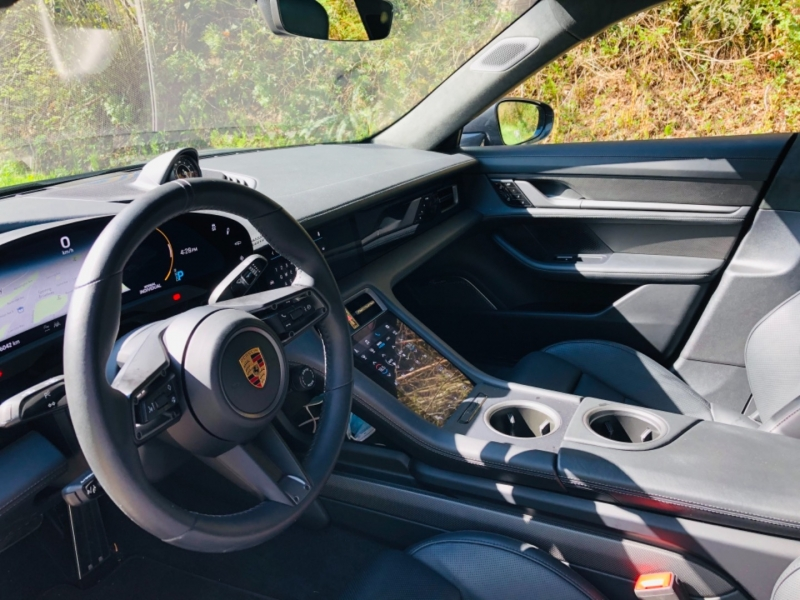 Porsche Taycan Turbo S 2020 price $210,000