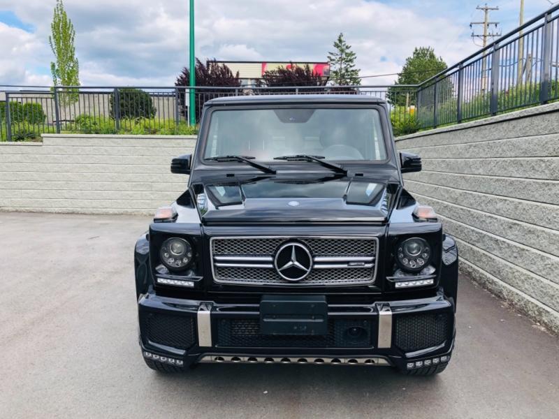 Mercedes-Benz G-Class 2016 price $158,000