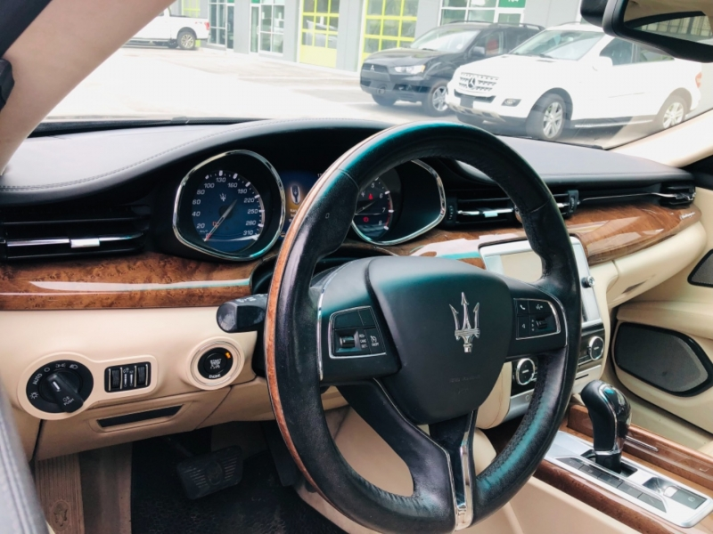 Maserati Quattroporte 2014 price $36,500