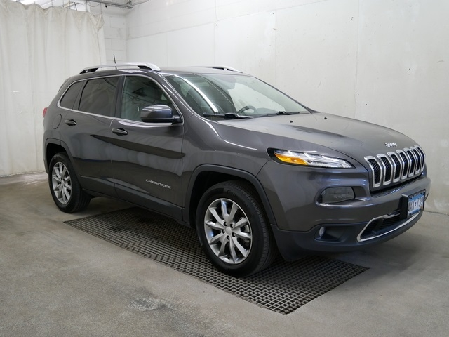 2018 jeep cherokee limited cars - burnsville, mn at geebo
