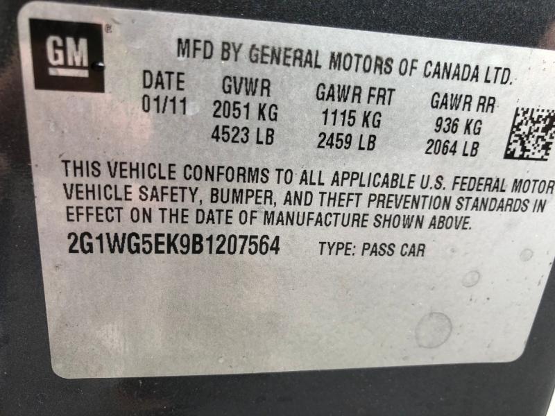 Chevrolet Impala 2011 price $5,650