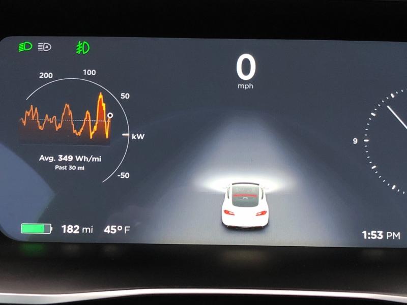 Tesla Model S 2016 price $46,450