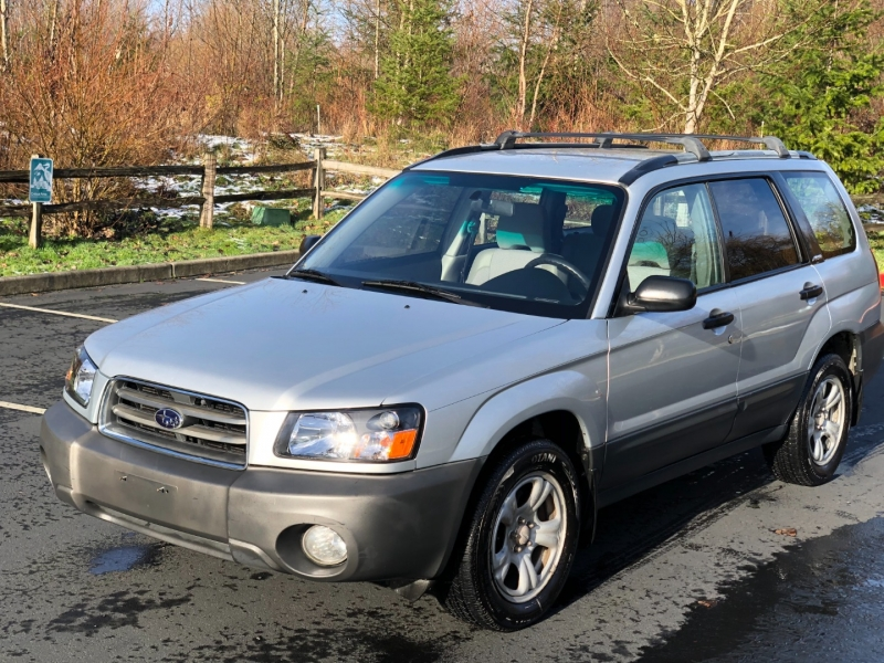 Subaru Forester 2003 price $7,350