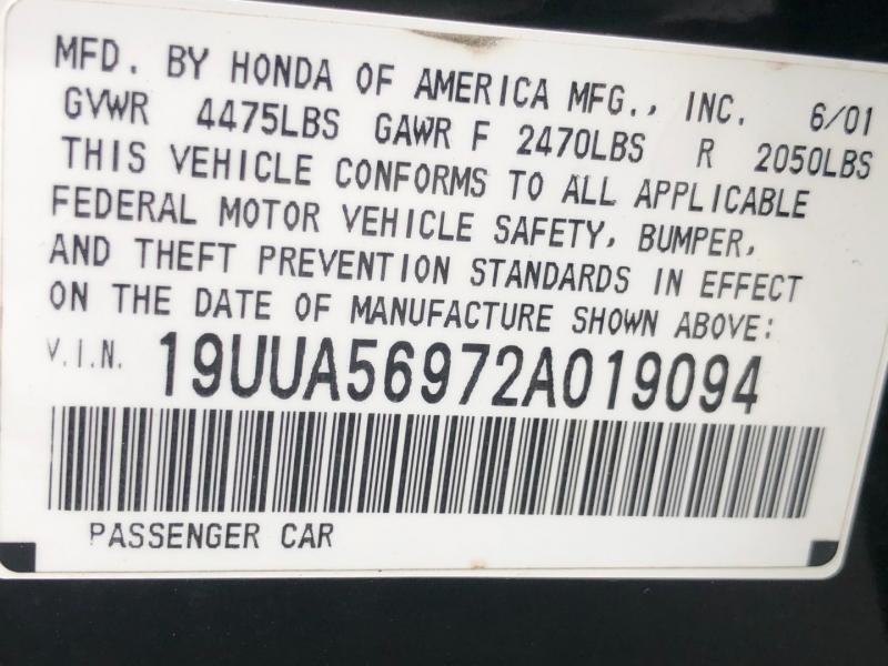 Acura TL 2002 price $11,885