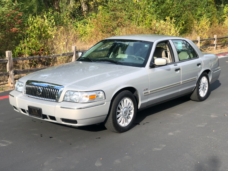 Mercury Grand Marquis 2009 price $24,500