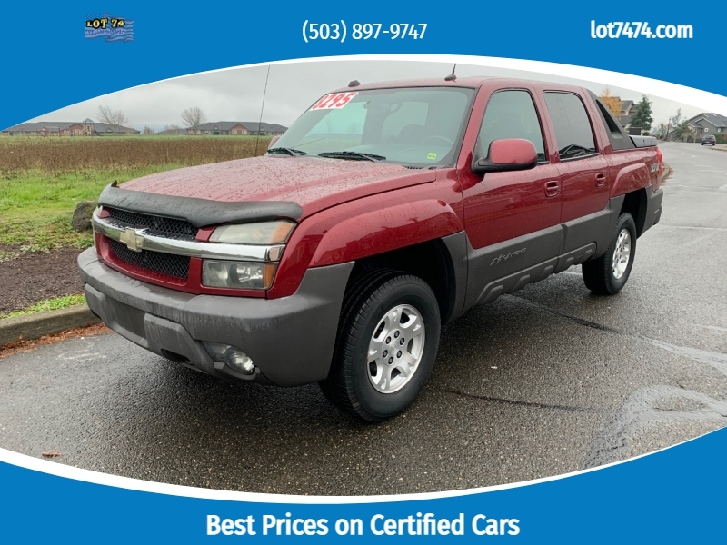 Chevrolet Avalanche 2004 price $7,495