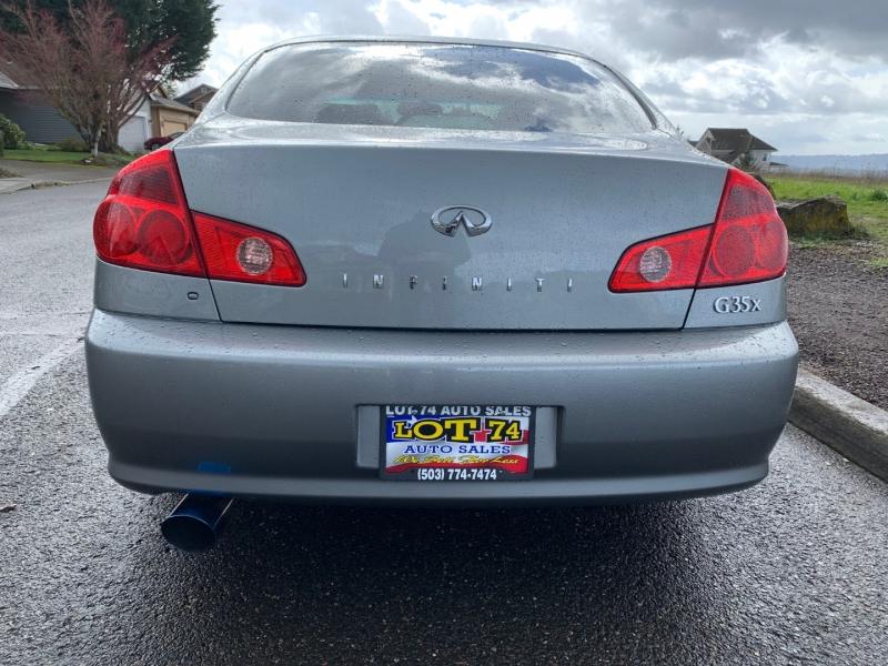 Infiniti G35 Sedan 2005 price $6,995