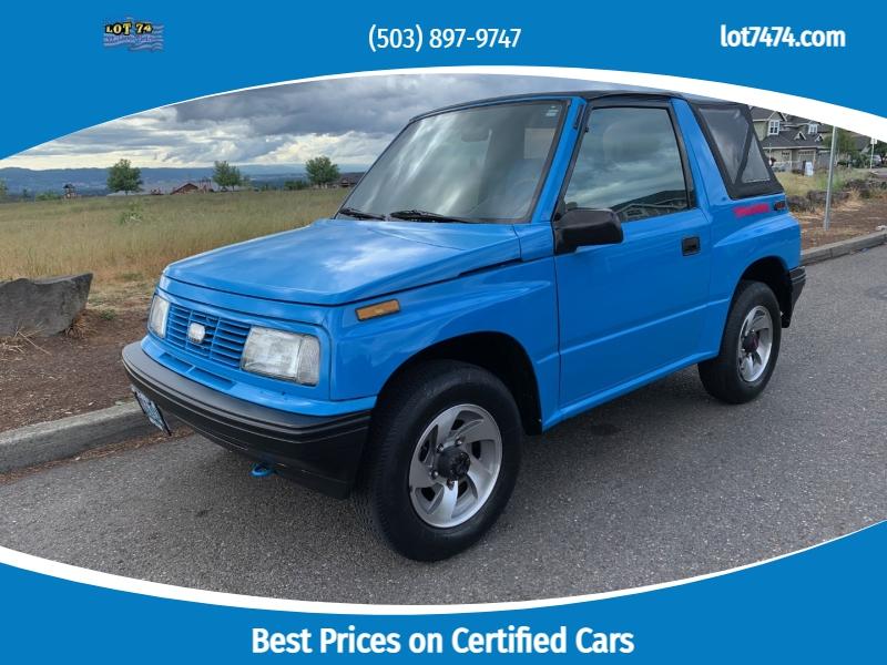 Geo Tracker 1993 price $7,295