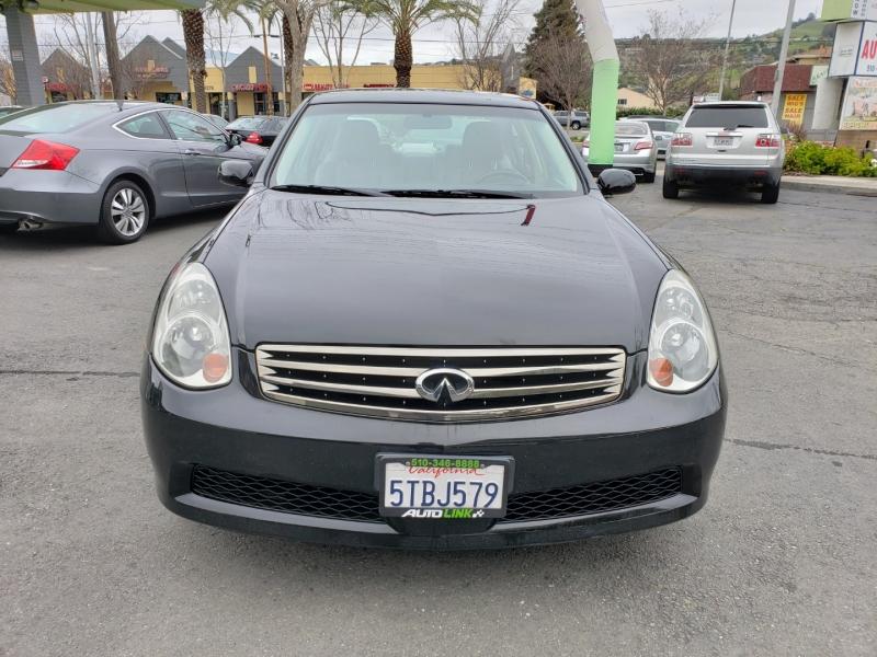 Infiniti G35 Sedan 2006 price $8,995