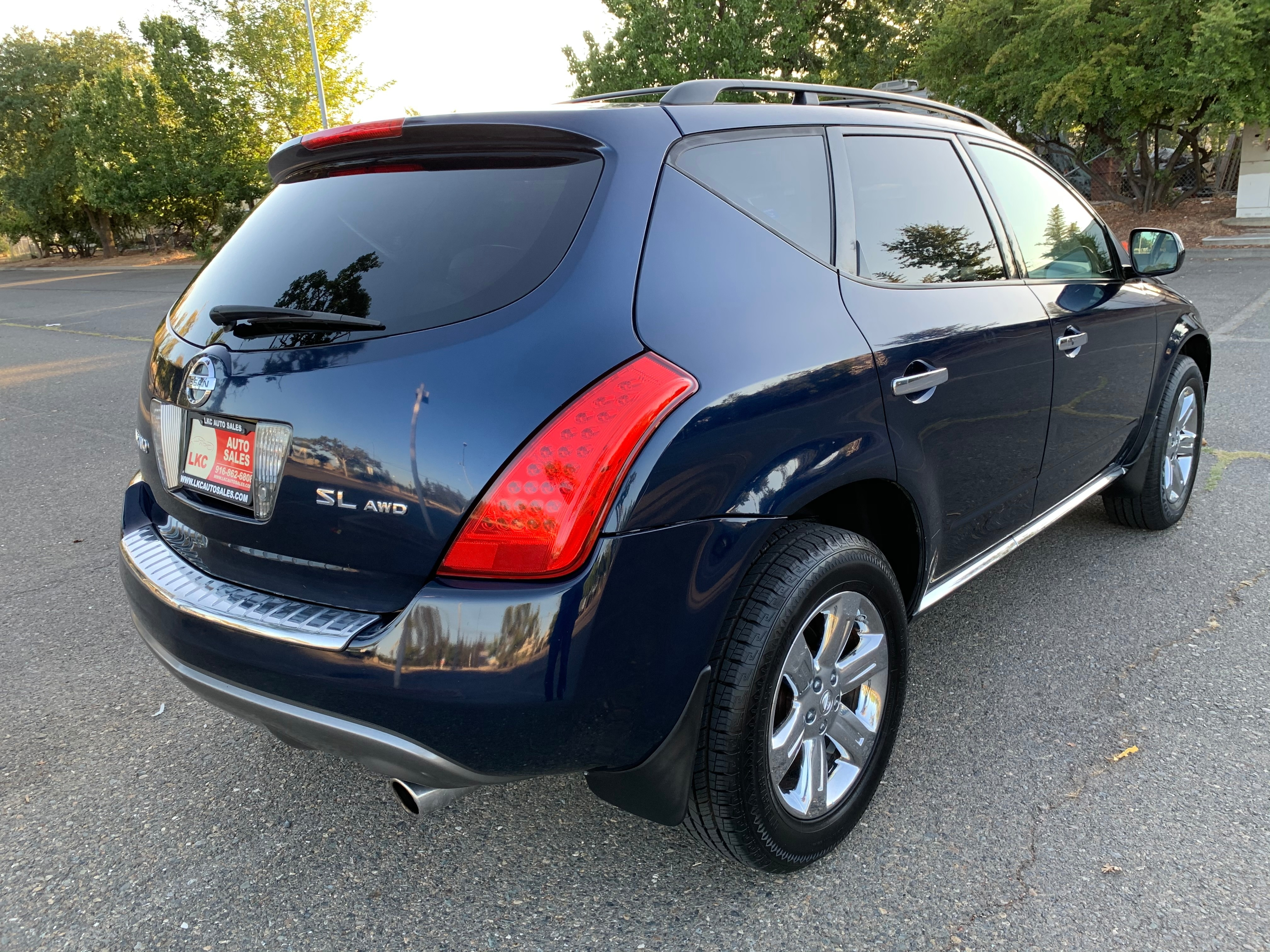 2007 Nissan Murano Awd 4dr Sl Clean Title One Owner Lkc Auto Sales Dealership In Sacramento