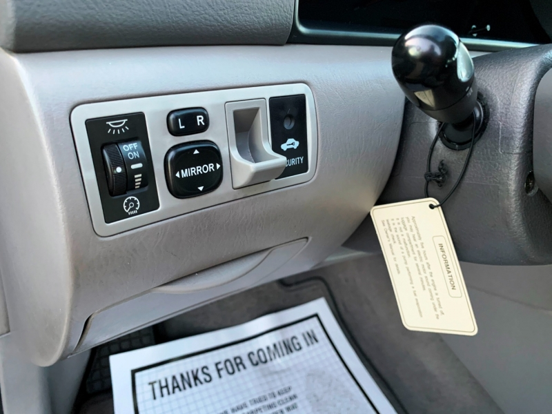 Toyota Corolla 2005 price $5,100