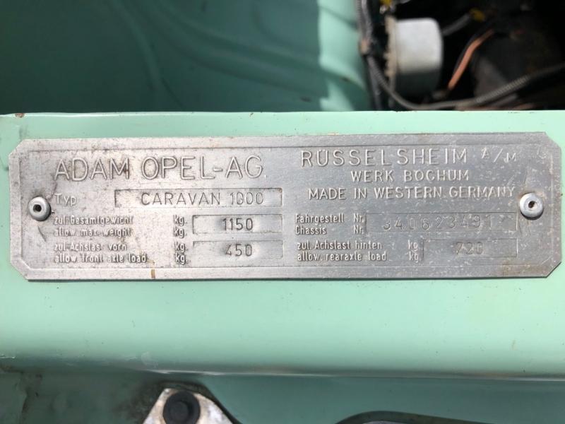 OPEL KADETT 1965 price $16,995