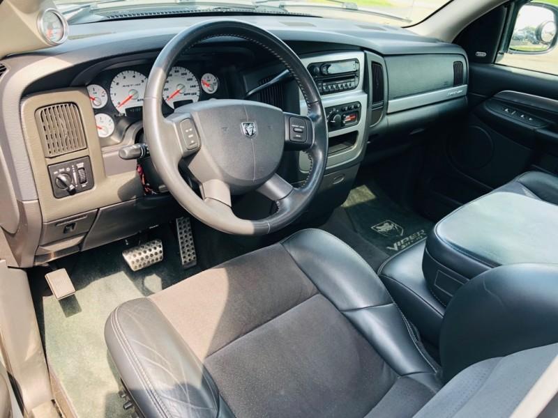 DODGE RAM SRT-10 2005 price $39,995