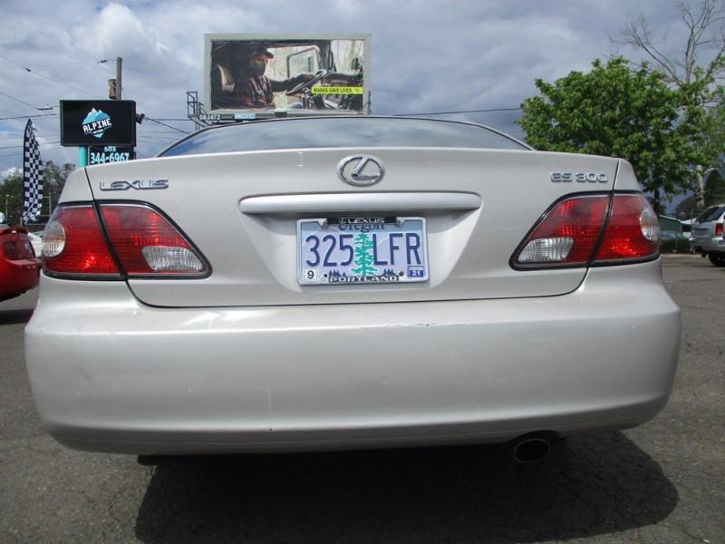 LEXUS ES 2002 price $5,999