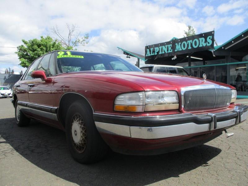 BUICK PARK AVENUE 1991 price $1,400
