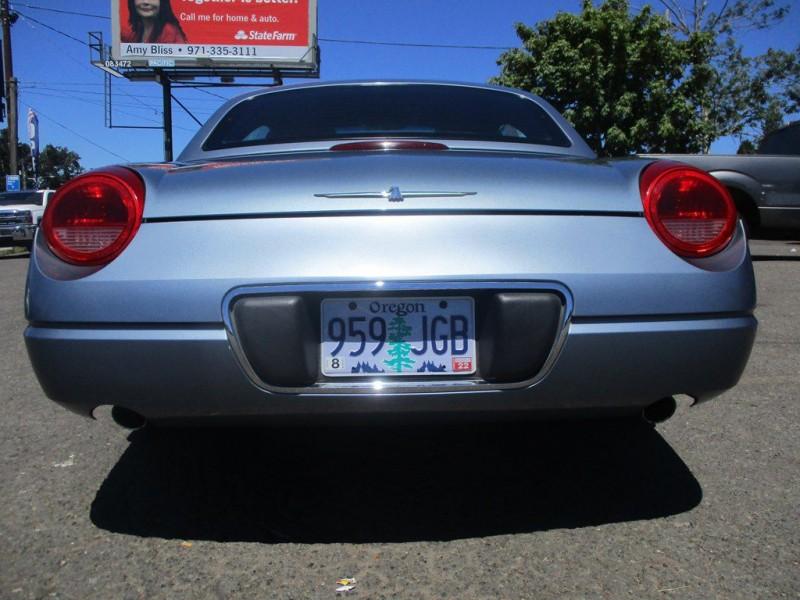 FORD THUNDERBIRD 2005 price $8,750
