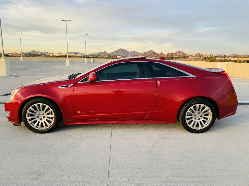Cadillac CTS Coupe 2013 price $13,495