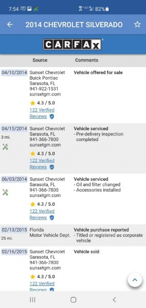 CHEVROLET SILVERADO 2014 price $14,249