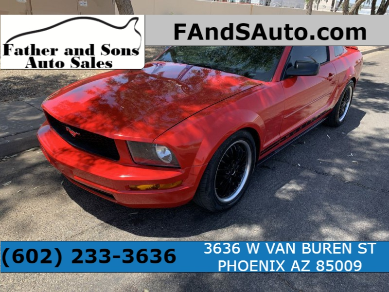 FORD MUSTANG 2007 price $7,799