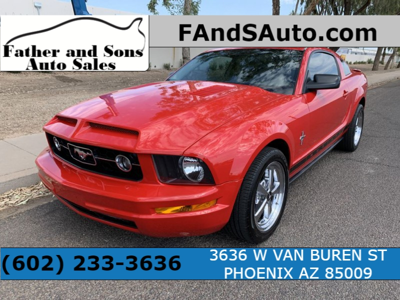 FORD MUSTANG 2008 price $8,499