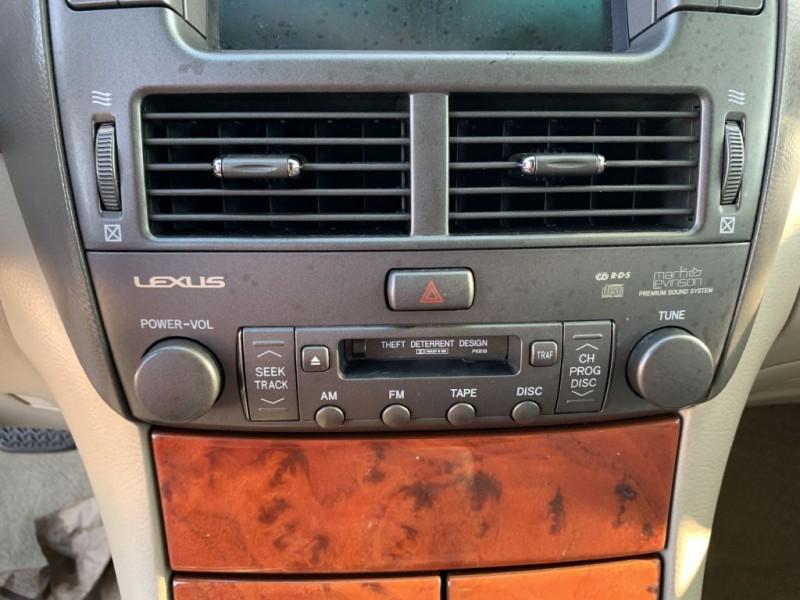 LEXUS LS 430 2003 price $7,999