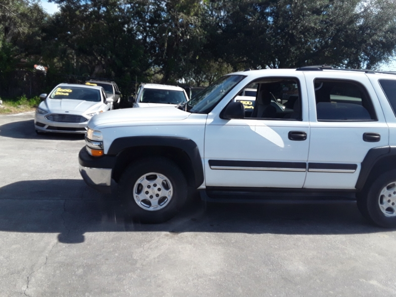 Chevrolet Tahoe 2005 price $4,999