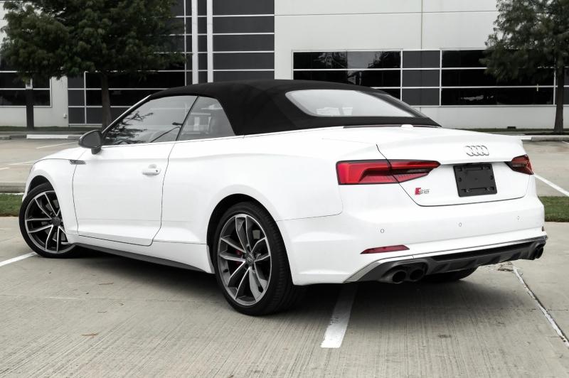 Audi S5 Cabriolet 2018 price $44,250