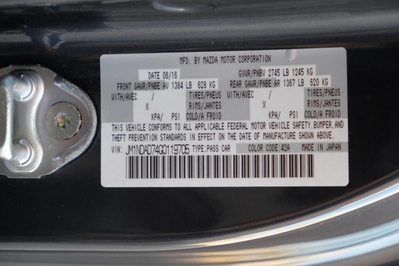 Mazda MX-5 Miata 2016 price $21,990