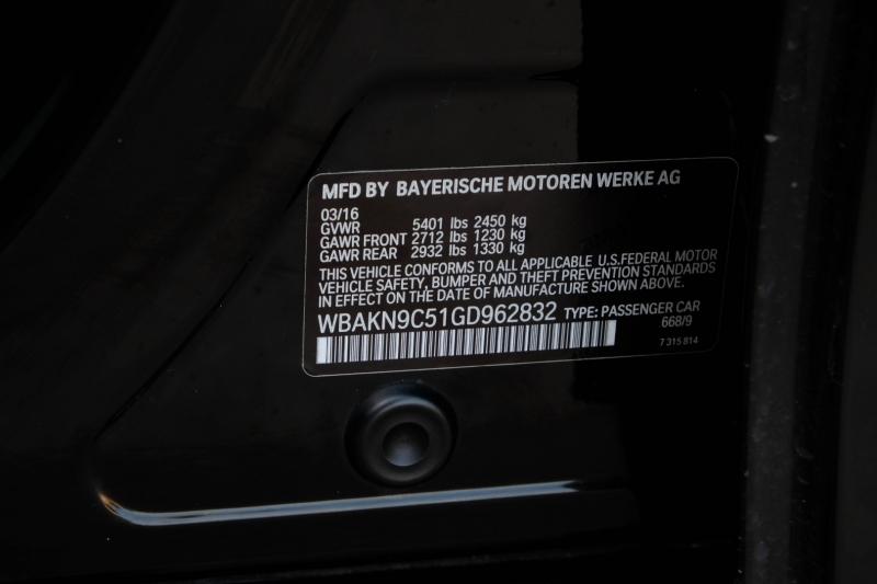BMW 5-Series 2016 price $33,790