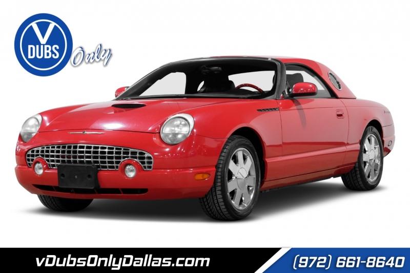 Ford Thunderbird 2002 price $12,490