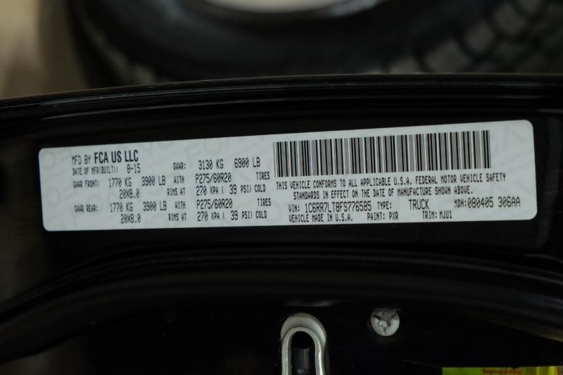 RAM 1500 2015 price $20,990