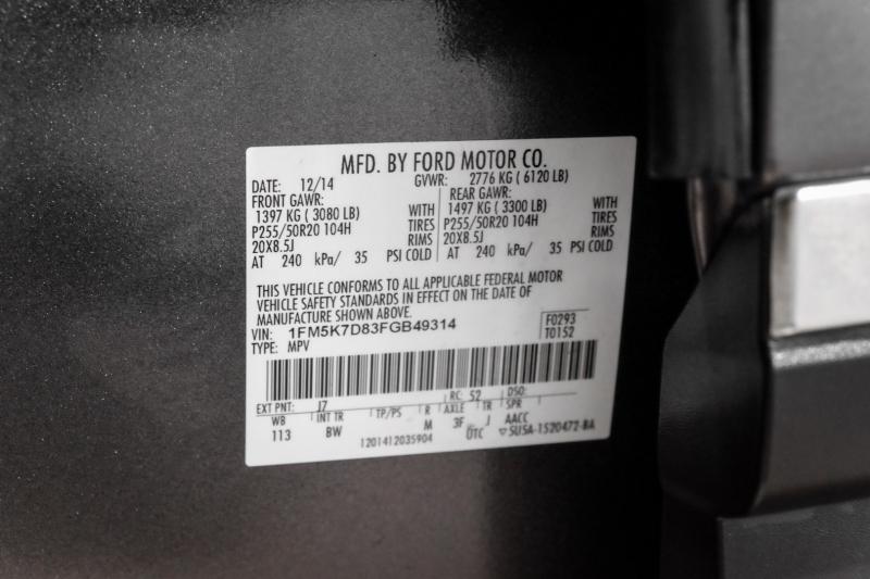 Ford Explorer 2015 price $19,990