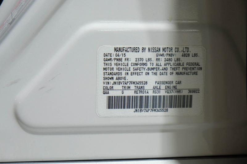 Infiniti Q50 2015 price $19,990