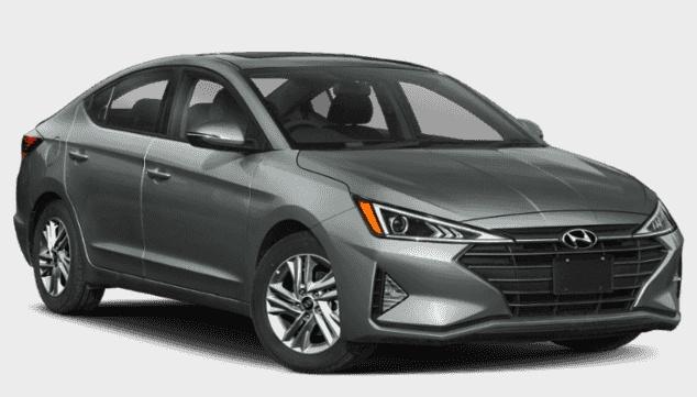 Hyundai Elantra 2020 price $150 Weekly