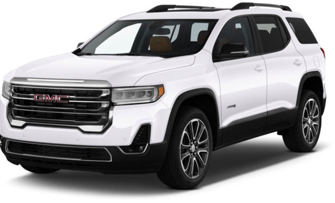 GMC Acadia 2020 price Call for Pricing.