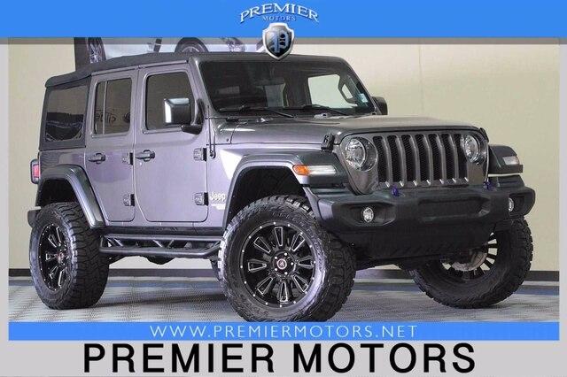 Jeep Wrangler Unlimited 2018 price $41,900