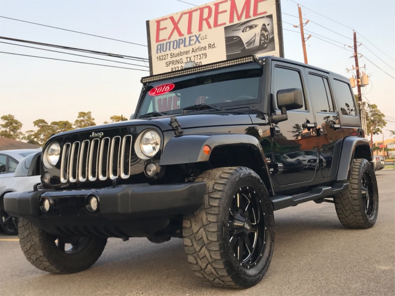 Jeep Wrangler Unlimited 2016 price $36,480