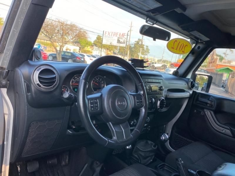 Jeep Wrangler 2012 price $21,890