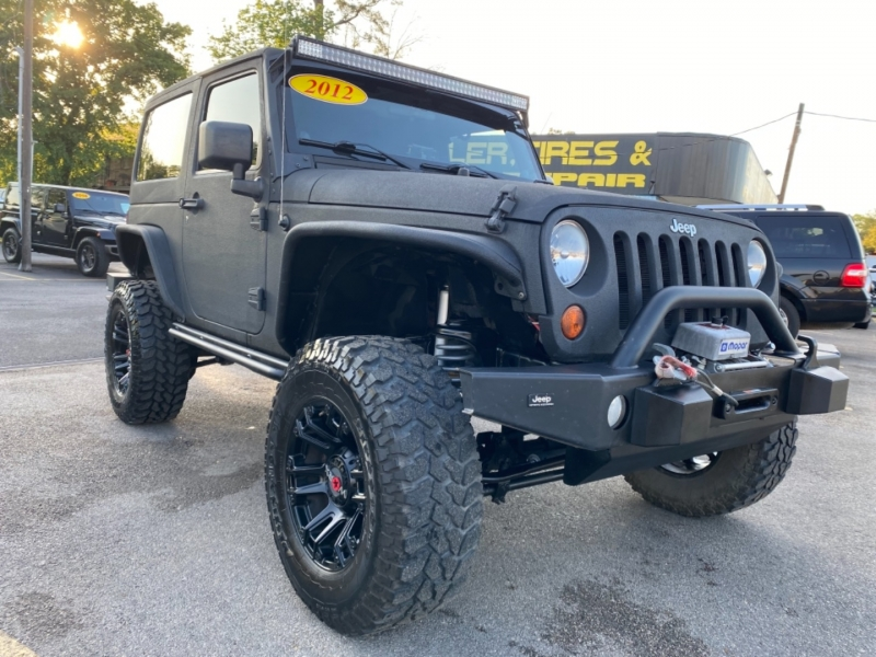 Jeep Wrangler 2012 price $21,890